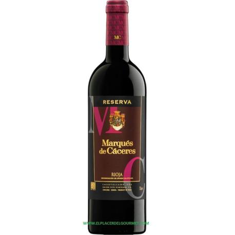 VINO TINTO MARQUES DE CACERES RRESERVA 2010 70CL  D.O. Rioja.