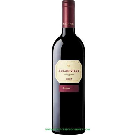 SOLAR VIEJO CRIANZA RED WINE. 75CL.2012