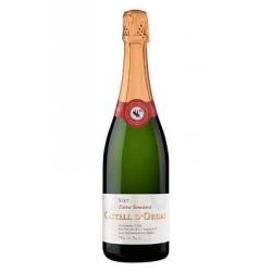 vino espumoso Castell D'Ordal semiseco cava 75 cl. compra 6 botellas con un 20 % de descuento