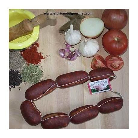 Chorizo rosario picante(Chacinas el Bosque) 1k. (2 piezas)