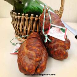 Morcon de Chorizo (Chacinas el Bosque) 1k. (2 piezas)