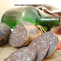 """Morcon de morcilla """"Chacinas la forêt"""" (2 pièces) 1 kilo"""