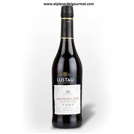 Amontillado Sherry Wein v.o.r.s. Lustau 50 cl. O.D. Jerez-Xeres-Sherry
