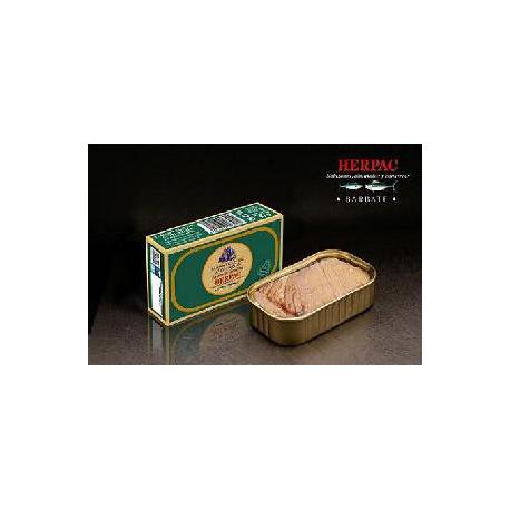 Tarantelo de atún rojo en aceite de oliva de Barbate. 120 gr.