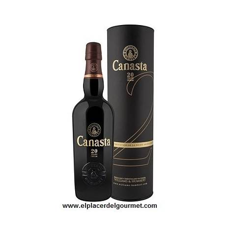 CANASTA 20 JAHREN VOS 50 CL. WILLIAMS & HUMBERT