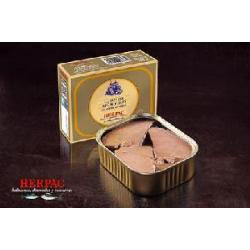 Lomo de atún rojo de Barbate en aceite de oliva en rodajas 320 gr.