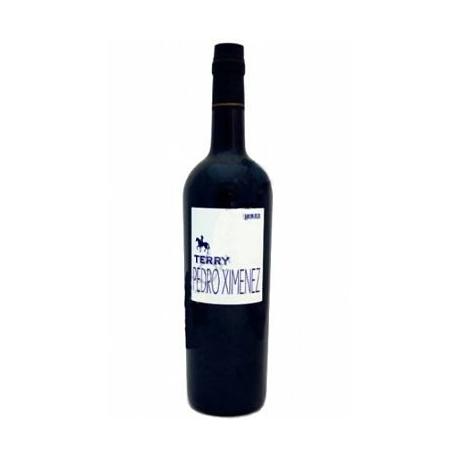 Wine sherry PEDRO XIMENEZ 75 cl. Terry .D.O. Jerez-Xeres-Sherry