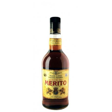 Jerez Brandy merito solera reserva 70 cl.