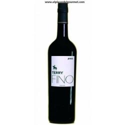 wine sherry Fino Terry 75 cl ..