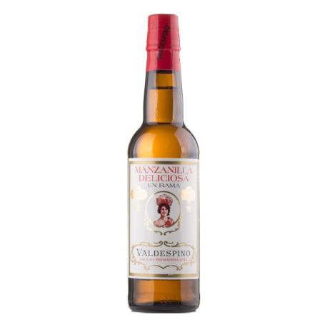 WINE SHERRY DELICIOUS MANZANILLA IN RAMA 37,5 CL.