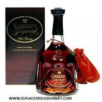 WINE SHERRY BRANDY CARLOS I IMPERIAL 70 CL.OSBORNE