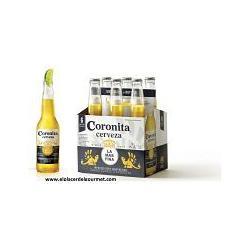 CERVEZA CORONITA 35CL PACK 6 UDS