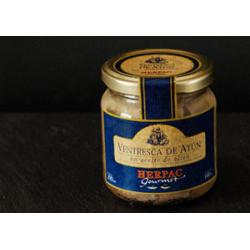Ventresca Barbate thon rouge dans l'huile d'olive. 250 gr.