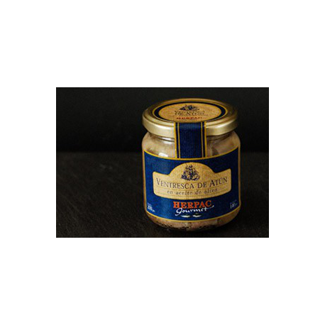 Tarantelo bluefin tuna in olive oil Barbate. 120 gr.