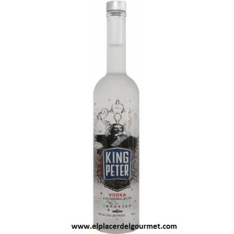 KING PETER vodka 1.75 L  compra 3 unidades con un 20% de descuento
