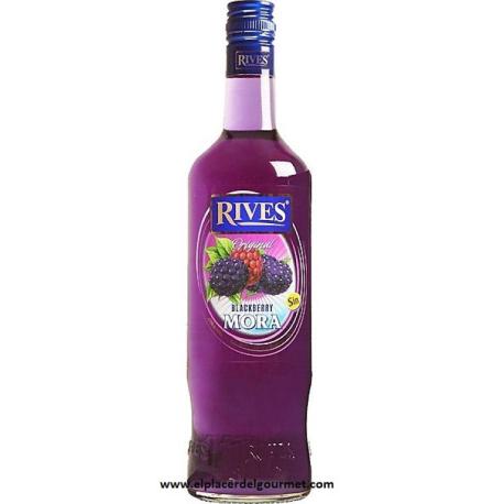 LICOR melocoton RIVES SIN ALCOHOL 70 cl.
