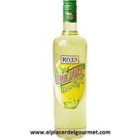 LICOR BANANA RIVES SIN ALCOHOL 1L