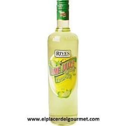 LICOR BANANA RIVES SIN ALCOHOL 1L