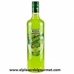 LICOR lime RIVES WITHOUT ALCOHOL 1L