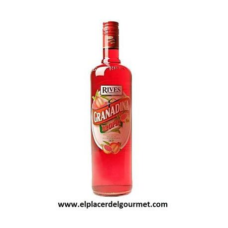 LICOR kiwi RIVES WITHOUT ALCOHOL 1L