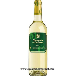 WHITE WINE MARQUES DE CACERES 75CL