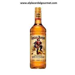 Captain Morgan Spiced Rum Gold (1 Lt.)