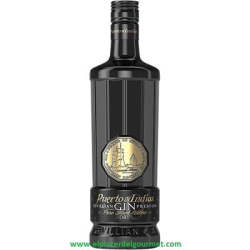 GIN PORT OF INDIAs  BLACK 70CL.