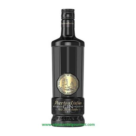 GIN PORT OF INDIA BLACK 70CL.