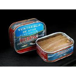 Ventresca de atún  de Barbate en aceite de oliva. 320 gr.