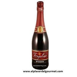 vino rojo FRAGOLINO 75CL. tinto de aguja