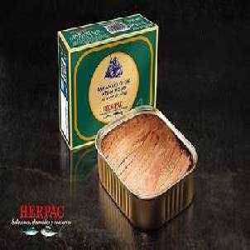 Tarantelo de atún rojo en aceite de oliva de Barbate. 320 gr.