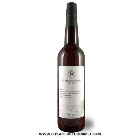 Maestro Sierra Amontillado sherry Superior 12 years BOT 75 CL