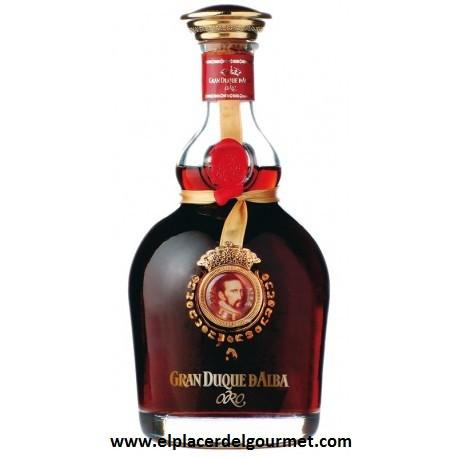 vino jerez brandy gran duque de alba serie oro mas copa 70 cl