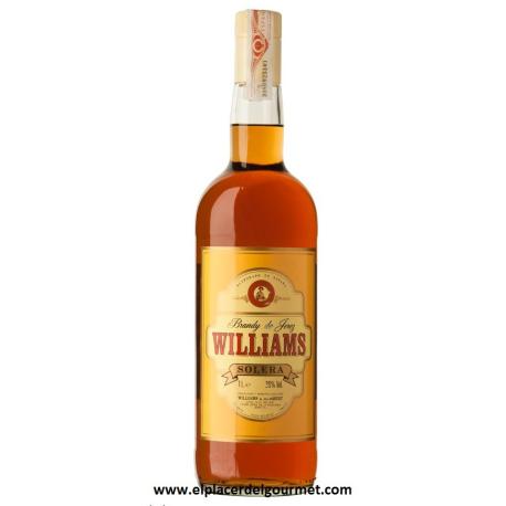 Wine sherry Brandy Solera Williams 1l.