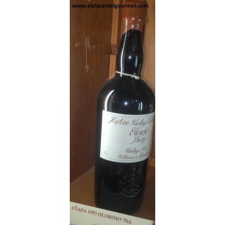 Vino jerez oloroso historic Vintage Collection 75 cl. Williams Humbert 1.959