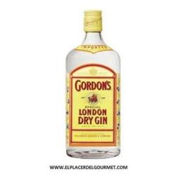 Ginebra GORDON'S LONDON DRY GIN 1 l.