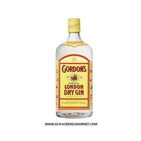 Ginebra GORDON'S LONDON DRY GIN 70cl.