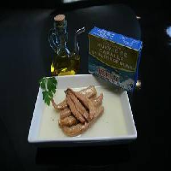 Huevas de caballa de Barbate en aceite de girasol 523 gr.