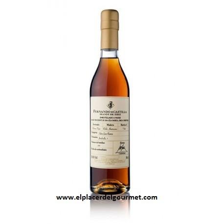 VINO JEREZ brandy SOLERA GRAN RESERVA 5 cl. FERNANDO DE CASTILLA