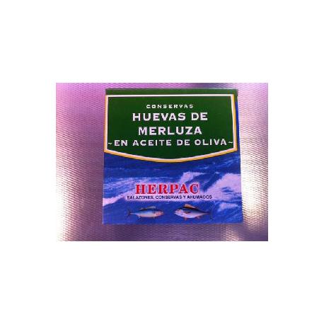 Hake roe in Olivenöl 525 gr.