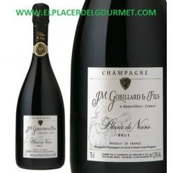 """VINO BLANCO ESPUMOSO GOBILLARD & FILS """" BLANC DES NOIRS"""" CHAMPAGNE 75 CL."""