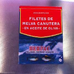 Filetes de Melva canutera de Barbate en aceite de oliva 525 gr.