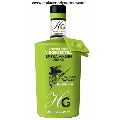 ACEITE OLIVA VIRGEN EXTRA Hacienda guzman coupage ecologico SEVILLA manzanilla/hojiblanca/aebequina 50 CL.