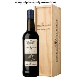 JEREZ DE VIN pedro ximenez v.o.s. 20 ans 75 cl. TRADITION winery