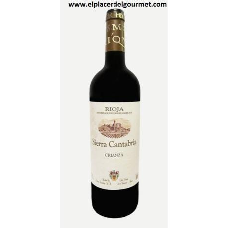 WINE RED SIERRA CANTABRIA CRIANZA RIOJA tempranillo 50 cl.