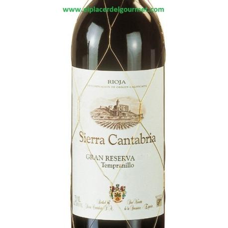 """RED WINE SIERRA CANTABRIA """"RESERVA"""" RIOJA tempranillo 75 cl."""