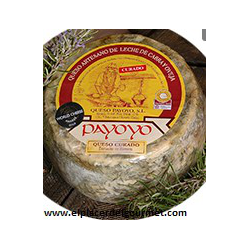 Payoyo cheese cured sheep goat mixture wrapped in wheat bran 2 k.