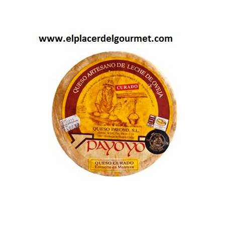 Payoyo cheese cured sheep to rosemary 2k.