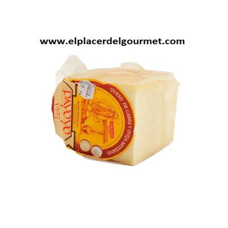 Cheese of sheep GOAT semitreated Payoyo 2.2 kg.