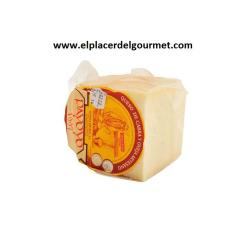 Queso Payoyo semicurado Cabra (cuarto de queso) 600 gr.